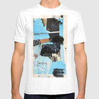 Fuzzy-Set Mens Fitted Tee White SMALL