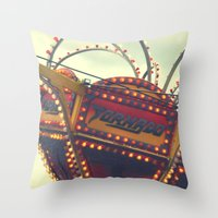 Vintage Carnival ~ The T… Throw Pillow