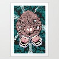 Eys Art Print