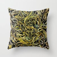 A Tangle Of Vines Throw Pillow