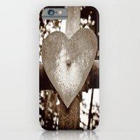 Rusty heart iPhone 6 Slim Case