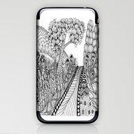 Zentangle Illustration -… iPhone & iPod Skin