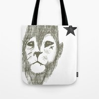 Punkster Lion *remade Fo… Tote Bag