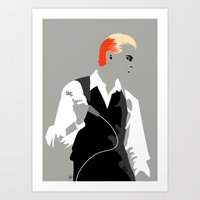 The Thin White Duke Art Print