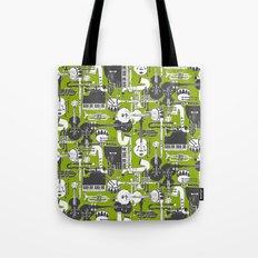weave jazz olive Tote Bag