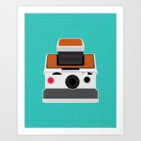 Polaroid SX-70 Land Came… Art Print