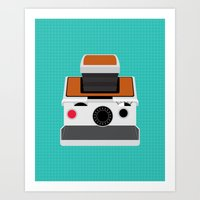 Polaroid SX-70 Land Came… Art Print