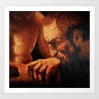 Incredulity of Thomas Art Print