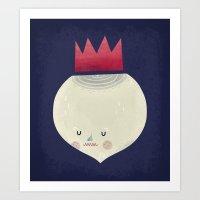king onion.  Art Print