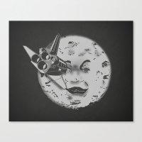 Méliès's Moon: Times A… Canvas Print