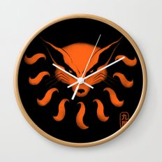 9 Tailed Beast Wall Clock