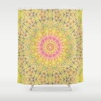 Meadow A Maise Mandala Shower Curtain