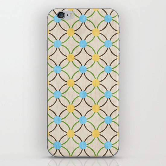 English Country Pattern. iPhone & iPod Skin