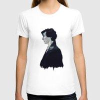 sherlock T-shirts featuring Sherlock by LindaMarieAnson
