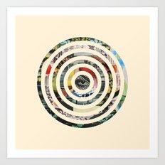 Circles. Art Print