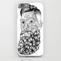 beard lovely iPhone 6 Slim Case