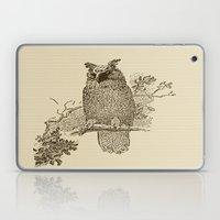 Vintage Owl Laptop & iPad Skin