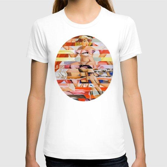 Glitch Pin-Up: Ursula T-shirt