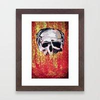 Skully. Framed Art Print