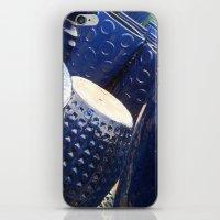 Blue Stack iPhone & iPod Skin