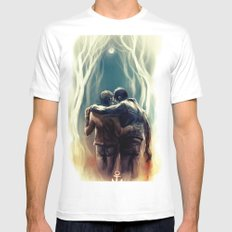 sterek SMALL Mens Fitted Tee White