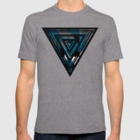 Blue For You / Pattern #8 Mens Fitted Tee Tri-Grey SMALL