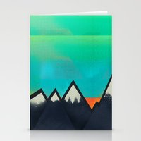 Mountain Top Sunset Stationery Cards