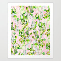 Prickly Pear Patch pt2. Art Print