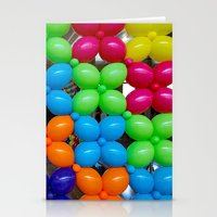 Balloon Wall Stationery Cards