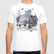 The Fog Mens Fitted Tee White SMALL