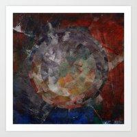 Circle Distortions #1 Art Print