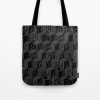 SUPER MARIO BLOCK-OUT! Tote Bag