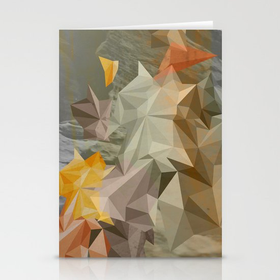 Hall of mirrors Stationery Card