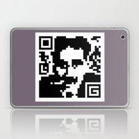 QR- Groucho Laptop & iPad Skin