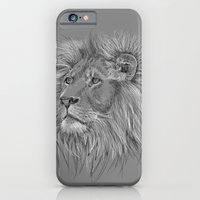 iPhone & iPod Case featuring Lion  by Olechka