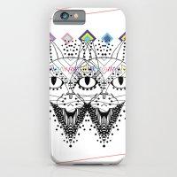 iPhone & iPod Case featuring El Gato de Tres Ojos by Súa Agapé