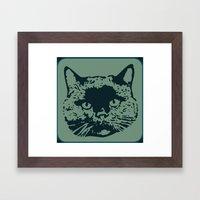 Cathead 2b Framed Art Print