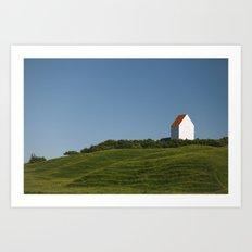 Withe House Art Print