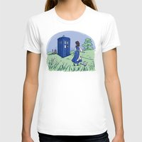 adventure T-shirts featuring Adventure in the Great Wide Somewhere by Karen Hallion Illustrations