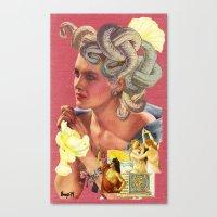 The Revelry Of Medusa Canvas Print