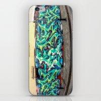 Newtown Wall iPhone & iPod Skin