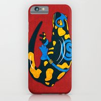 iPhone & iPod Case featuring Salamander by subpatch