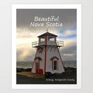 Beautiful Nova Scotia Art Print
