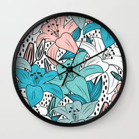 Fresh garden  Wall Clock