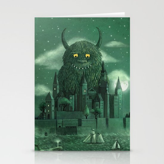 Age of the Giants  Stationery Card