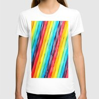 candy T-shirts featuring Rainbow Candy: Licorice by WhimsyRomance&Fun