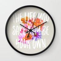 TLYS Wall Clock