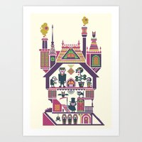 House Of Freaks Art Print