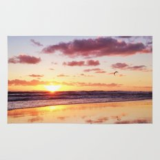 Sunset in Newport Beach Rug