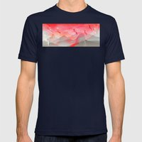 Gliding In Rio's Sky. Mens Fitted Tee Navy SMALL
